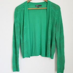 89th & Madison Open Front Open Knit Light Cardigan